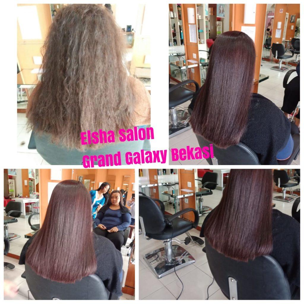smoothing rambut di galaxy bekasi