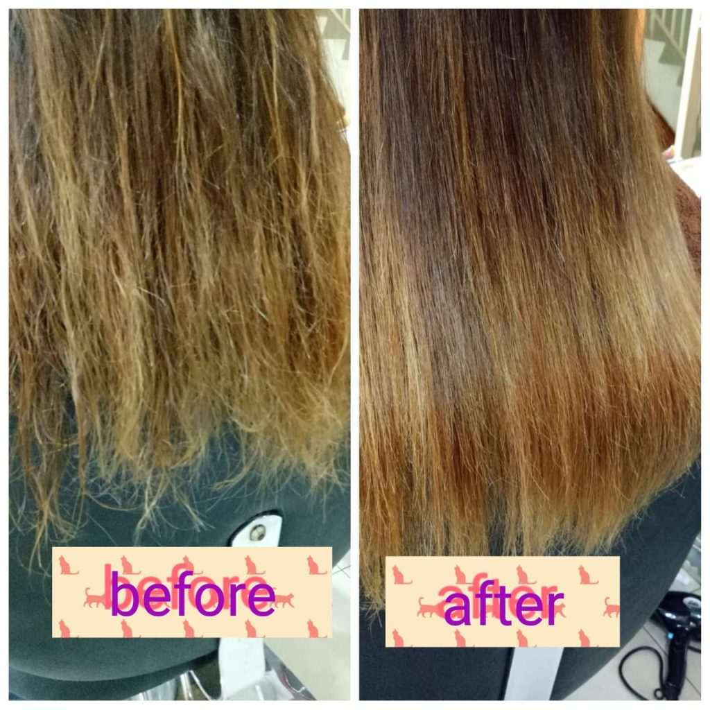 Hair Keratin di Salon Galaxy Jatiasih Bekasi