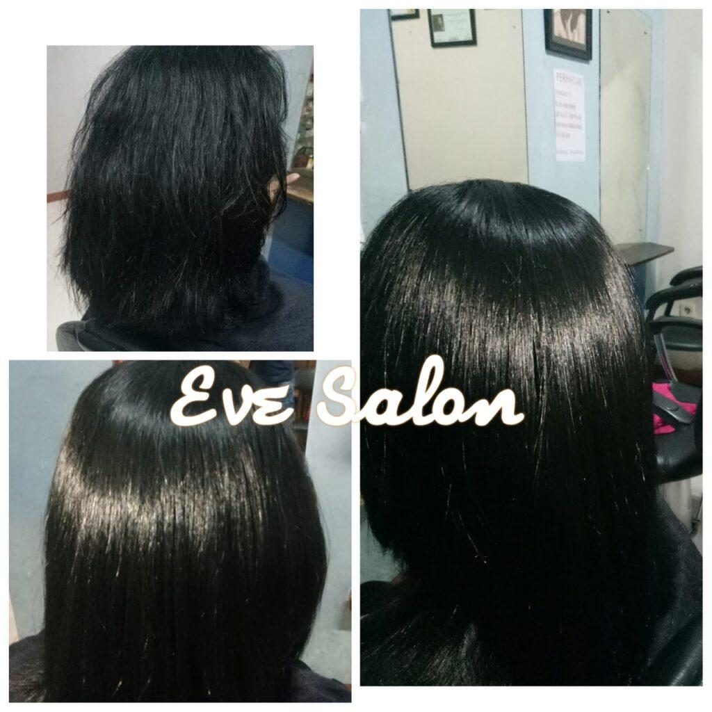 smoothing rambut ikal
