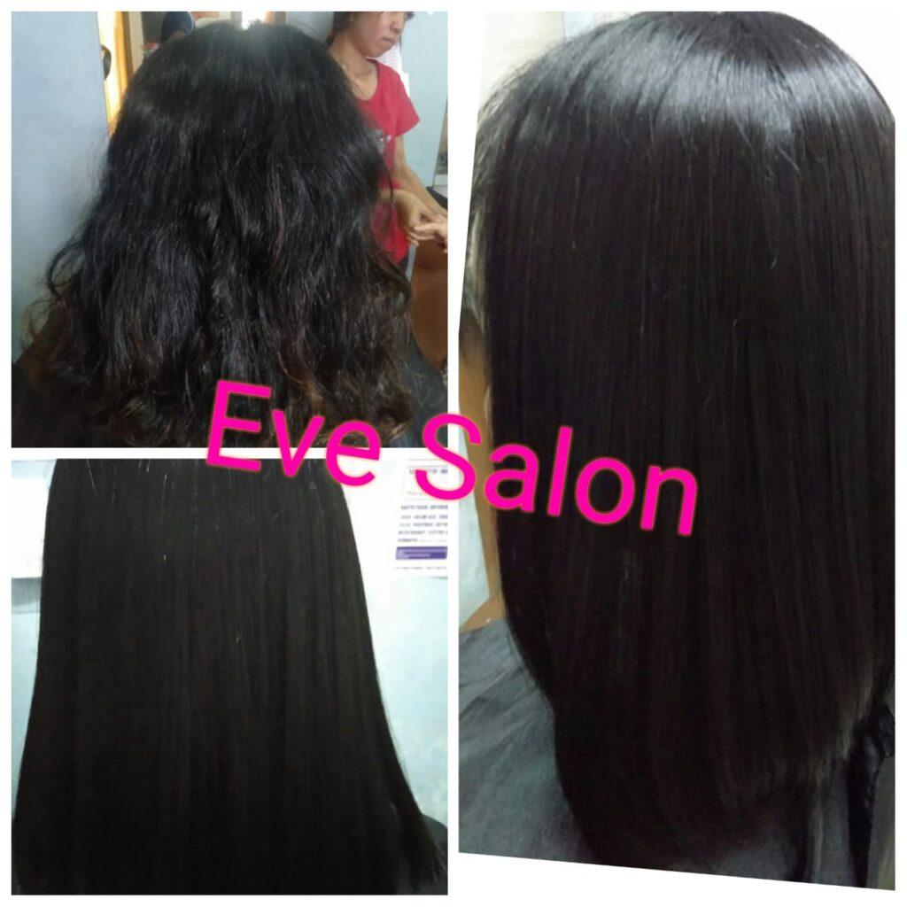 smoothing rambut keriting