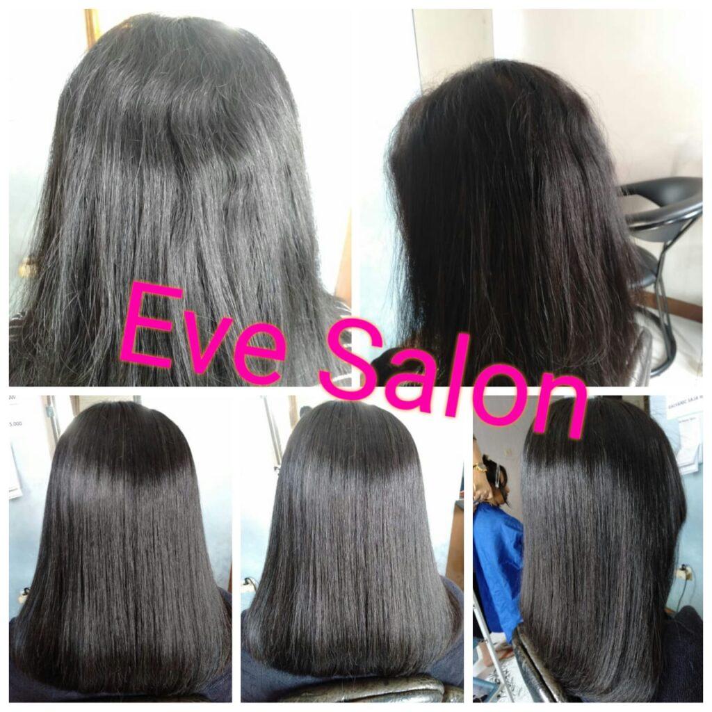 smoothing rambut kasar